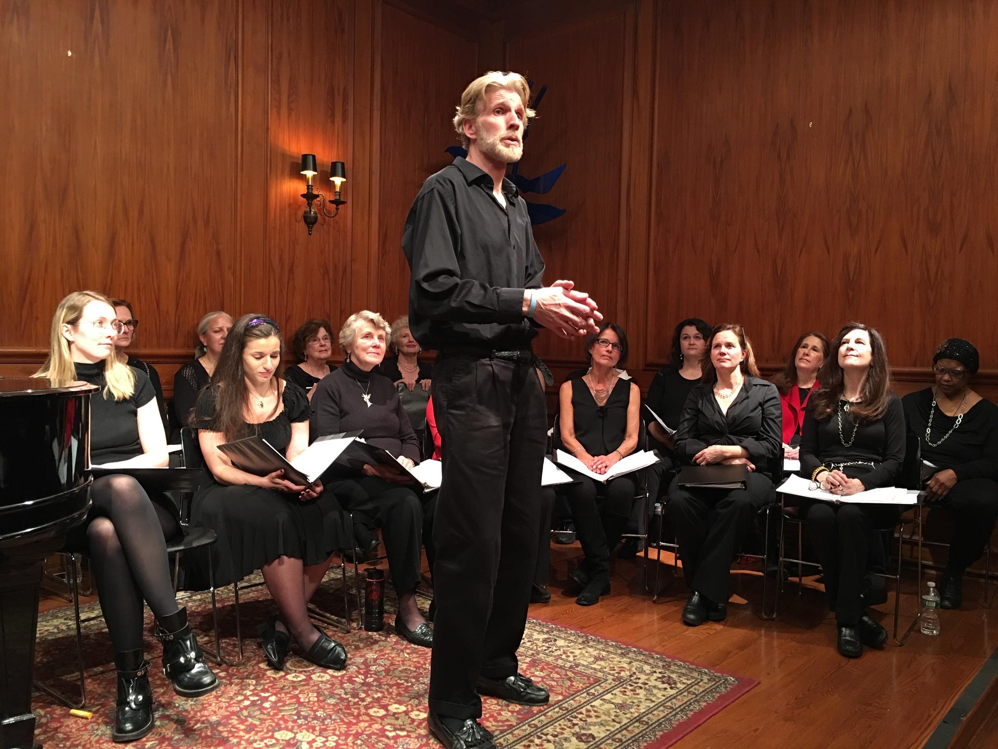 angel choir at greenwich arts council